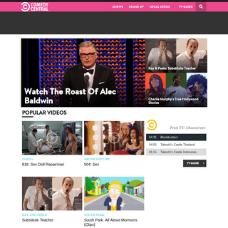 The Official Comedy Central Australia Site - Comedy Central Australia & New Zealand