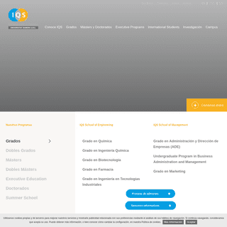 IQS – Instituto Químico de Sarrià – Barcelona - IQS