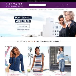 ArchiveBay.com - lascana.com - LASCANA Fashion Clothing, Swim, Bras & Lingerie for Women