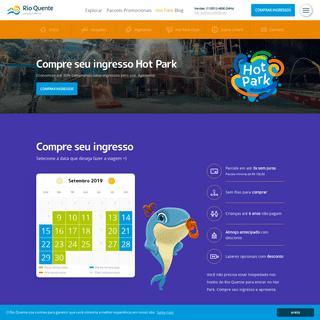 Hot Park é sinônimo de diversão o ano todo - Rio Quente