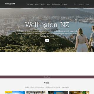 Discover Wellington » WellingtonNZ.com