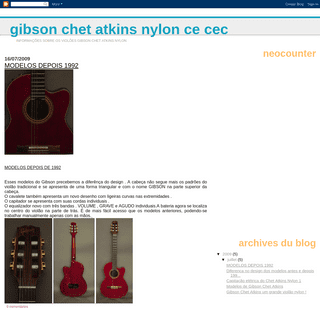 Gibson Chet Atkins Nylon CE CEC