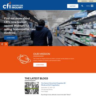 CFI- Center for Inquiry