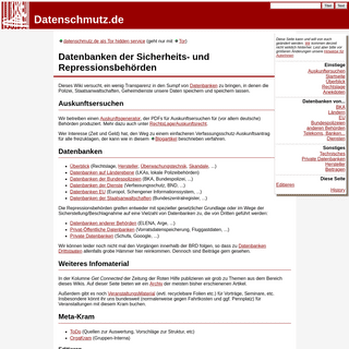 Datenschmutz.de - Datenschmutz Wiki