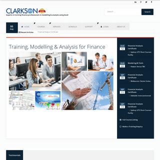 Home - Clarkson ITT