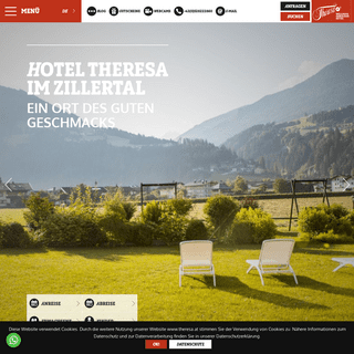 Hotel Theresa - Hotel im Zillertal - Hotel Theresa