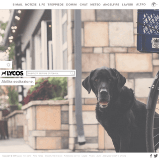 A complete backup of lycos.it