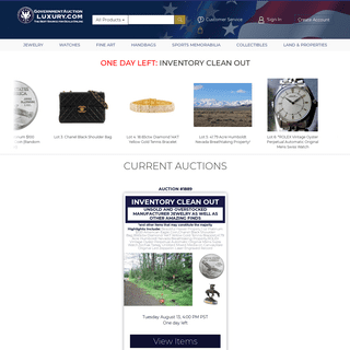 Online Auctions for Jewelry, Watches and Collectibles - Government...