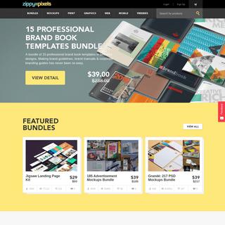 Best Mockups & Templates for Web & Graphic designers - ZippyPixels