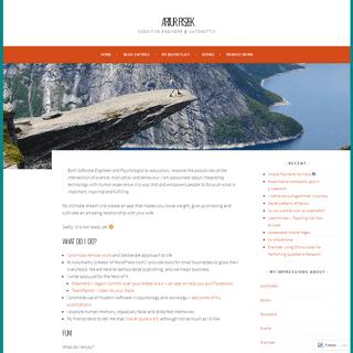 ArchiveBay.com - piszek.com - Artur Piszek – Cognitive Engineer @ Automattic