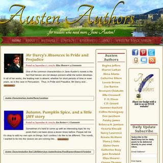 Austen Authors - - Home