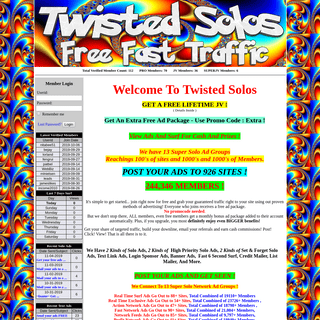 Surf - Solo - Text Ads and tons of Instant Traffic