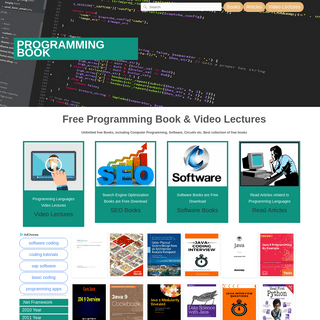Programming Books - Download free PDF eBooks