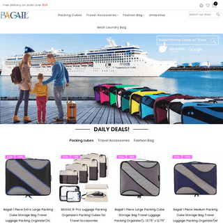 Shop Packing Cubes for Travel Backpacks, Everything Bags - bagail.com– Bagail