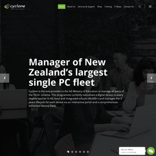 Cyclone - Cyclone is a New Zealand owned company providing bespoke procurement, implementation and support services for educatio