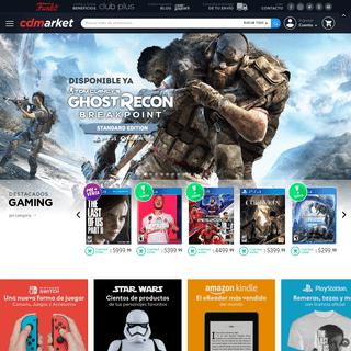 CD Market Argentina - Venta en Argentina de Consolas, Videojuegos, Gadgets, y Merchandising