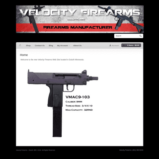 Velocity Firearms - Duluth, MN