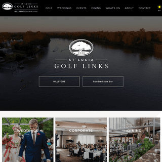 Prestige Wedding, Event & Golf Venue In Brisbane - St Lucia Golf Links