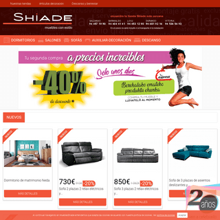 Tienda de Muebles Online Shiade