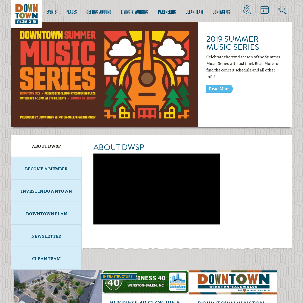 The Downtown Winston-Salem Partnership - Winston-Salem, NC
