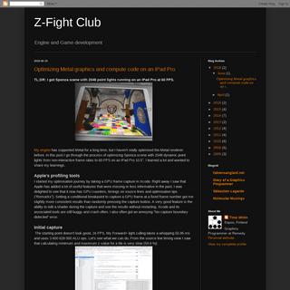 ArchiveBay.com - bioglaze.blogspot.com - Z-Fight Club