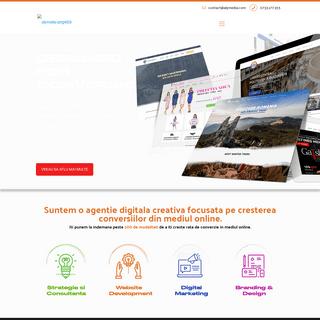 AlyMedia - Designed for Conversion- Site-ul care iti aduce clienti