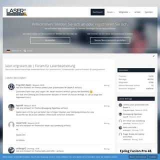 laser-engravers.de - Forum für Laserbearbeitung