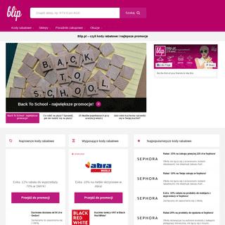 ArchiveBay.com - blip.pl - Kody rabatowe - kupony promocyjne – poradniki zakupowe - Blip