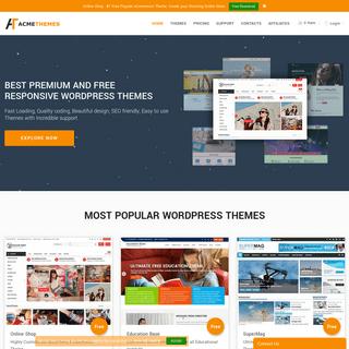 Acme Theme - Best Premium and Free WordPress Themes