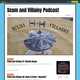 Scum and Villainy Podcast