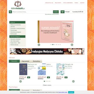 Dobreksiazki.pl – zdrowie, psychologia, rozwój duchowy, medycyna naturalna