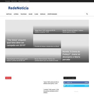 ArchiveBay.com - redenoticia.com.br - Rede Noticia - Notícias, Loterias e Entretenimento