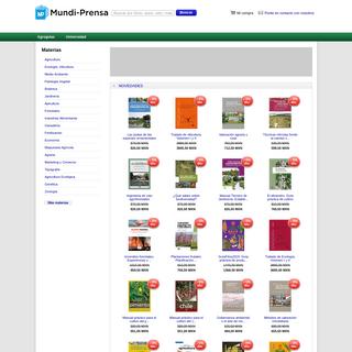 Librería online de Mundi-Prensa - mundiprensa.mx