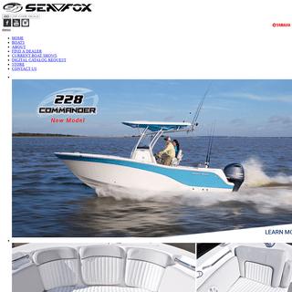 Sea Fox Boats - Home page