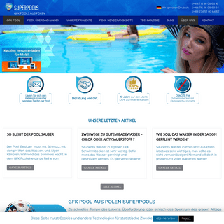 GFK Pool - Pool Aus Polen - Pool Kaufen in Polen Superpools