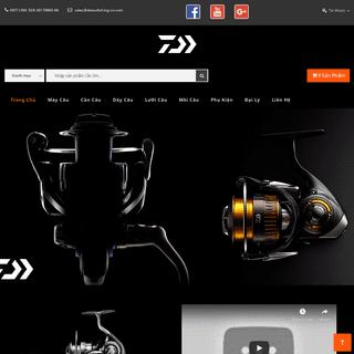 Câu cá giải trí - Daiwa Ltd. - Trang chủ