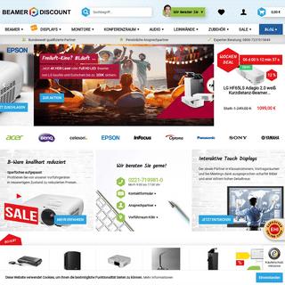 ArchiveBay.com - beamer-discount.de - Beamer & Leinwand zu Discount Preisen beim Testsieger kaufen
