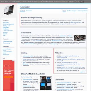 ArchiveBay.com - thinkwiki.de - ThinkPad-Wiki