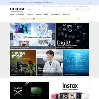 Home - Fujifilm Global