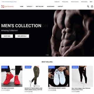 Gym Accessory Store