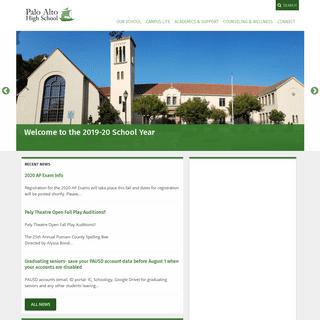 ArchiveBay.com - paly.net - Palo Alto High School - Paly