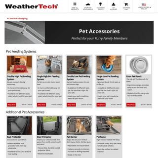 Pet Accessories - WeatherTech