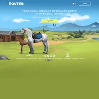 Alleva dei cavalli e gestisci un centro ippico su Howrse - Howrse