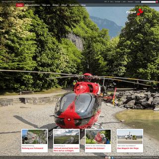 Rega – Schweizerische Rettungsflugwacht Rega – Alarmnummer 1414