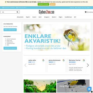 ArchiveBay.com - cyberzoo.se - Akvarium, terrarium & andra djurtillbehör - CyberZoo.se