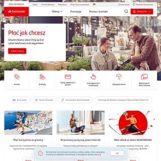 Klient indywidualny - Santander Bank Polska (dawniej BZWBK)