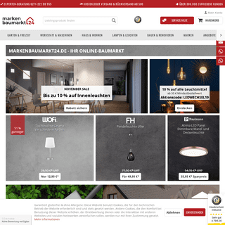 markenbaumarkt24 Online-Baumarkt mit top Marken
