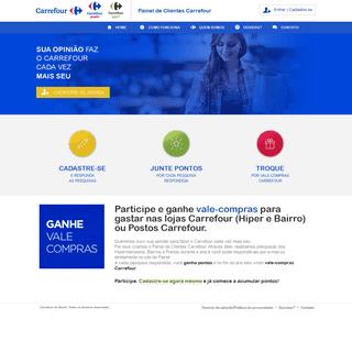 Carrefour - Painel de Clientes