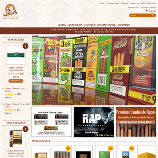 ArchiveBay.com - cheaplittlecigars.com - Cheap Little Cigar - Pipes, Humidors, Cigarette Papers & Tubes