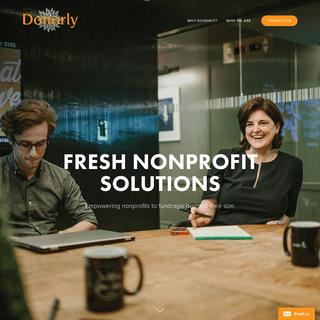 ArchiveBay.com - donorly.com - Smart Non-Profit Fundraising